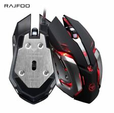 Optical Gaming Mouse 6 Buttons USB Wired Game Mice 3200 DPI Led Laptop Computer