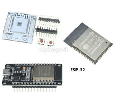 NEW ESP-WROOM-32 ESP 32 ESP 32S IoT Wifi Wlan BLE Module mit Adapter Board