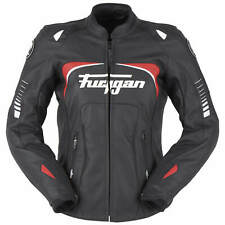 Furygan Ginger Giacca pelle Donna Sport - Nero Bianco Rosso