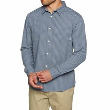 Quiksilver Everyday Checks Mens Shirt Long Sleeve - All Sizes