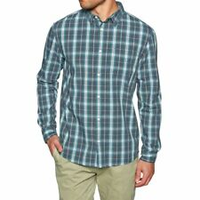 Quiksilver Everyday Checks Mens Shirt Long Sleeve - Tapestry All Sizes