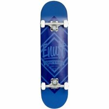 Enuff Diamond 8 Inch Logo Complete Skateboard Unisex Part Deck - Blue One Size