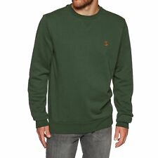Element Classic Cornell Crew Homme Pull Sweater - Dark Spruce Toutes Tailles