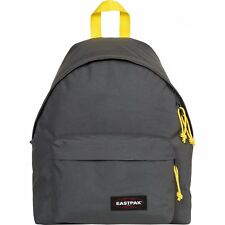 Eastpak Padded Pakr Unisexe Sac à Dos - Grey-yellow Une Taille