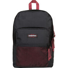 Eastpak Pinnacle Unisexe Sac à Dos - Black-red Une Taille