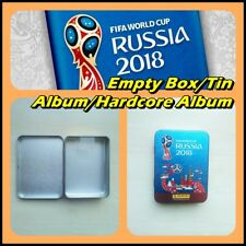 Panini FIFA World Cup 2018 Tin Box EMPTY Metal Mint Case for Sticker 100 Album