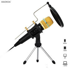 Professional condenser Microphone for Computer with Stand for Phone microphones