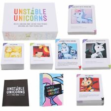 Game Unstable Unicorns Base Box New Sealed Card or PLUS 1 Sealed Expansion Pack