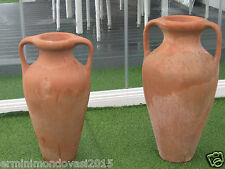 ANFORE ROMANE IN TERRACOTTA RIFINTE A MANO