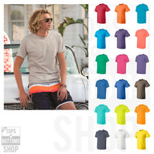 Fruit of the Loom HD Cotton Short Sleeve Plain Blank T-Shirt S-6XL - 3930R-2
