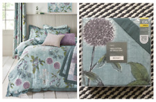 NEXT Wild Hedgerow Teal 100% Cotton SINGLE Bedset NEW~Selling Matching Curtains~