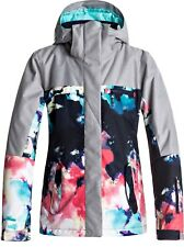 ROXY JETTY BLOCK JACKET NEON GRAPEFRUIT CLOUD NINE