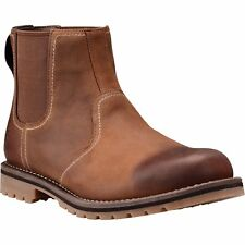 Timberland Larchmont Chelsea Mens Boots - Oakwood Fig With Suede All Sizes