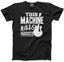 This Machine Kills Fascists - guitar Mens Unisex T-Shirt guitarist activism