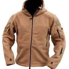 Winter Military Mens Tactical Jacket Polartec Thermal Polar Hooded Coat