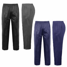New Mens Silky Jogging Bottoms Joggers Gym Sports Tracksuit Pants Trousers