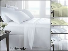 NEW STYLISH T800 FITTED SHEETS & FLAT SHEETS, DUVET SET AND PILLOWCASES