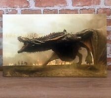 Game of Thrones canvas wall art Drogon