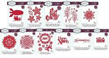SUE WILSON CHRISTMAS DIES - FESTIVE INDUSTRIAL CHIC COLLECTION - NEW 2018