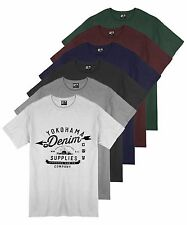 Uomo 6 Colori Yokohama Jeans Stampa Grafica T Shirt Estate 100% Cotton