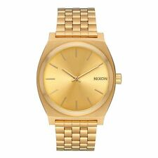 Nixon Time Teller Watch - All Gold