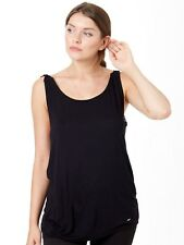 Camiseta sin mangas mujer ONeill Macrame Back Negro Out