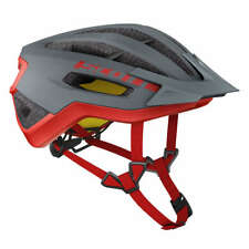 Scott Trail-MTB Helm Fuga Plus Rev Grau/Rot