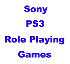 Role Playing RPG Sony PlayStation PS3 Games Choose Your Game From The List
