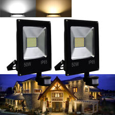 50W faretto proiettore LED luci di sicurezza floodlight con sensore di movimento