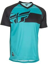 Jersey MTB de manga corta Fly Racing 2017 Action Elite Teal-negro