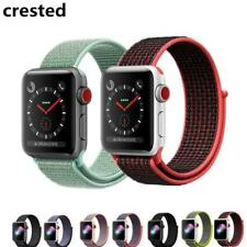 CRESTED Sport Loop For Apple Watch band strap 42mm 38mm Woven Nylon iwatch 3/2/1