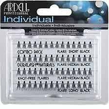 Ardell Duralash Individual Eyelashes KNOT-FREE FLARE Naturals - BLACK CHEAPEST