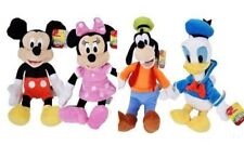 """Authentic Disney Junior Mickey Minnie Mouse Goofy Clubhouse 11"""" Plush w/ TAGS"""