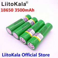 LiitoKala for LG MJ1 18650 INR18650MJ1 10A discharge li-ion battery 3500mAh