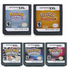 NDSI 3DS NDS Lite Pokemon Platinum Diamond Pearl Version Game Cards for Nintendo