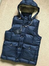 ABERCROMBIE & FITCH DOWN FILLED WAISTCOAT GILET VEST JACKET - MEDIUM - NEW TAGS