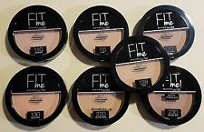 Maybelline Fit Me Matte + Poreless Pressed Face Powder Choose Shade