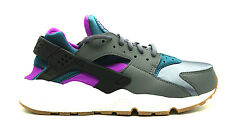[634835-016] Nike Aire Huarache Run Wmns Mujer Zapatillas Nike Gris Oscuro Tealm