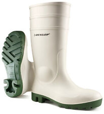 Dunlop Protomaster White S5 Safety Work Wellington Steel Toe Cap Welly Wellies