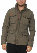 Superdry Giacca Uomo Classic Rookie Military Giacca Military Cachi