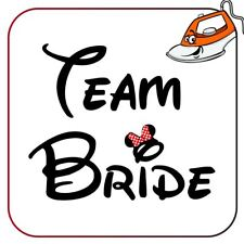 Auntie Of The Groom Iron on T Shirt Transfer Hen Do Bride To Be Team SPARKLE