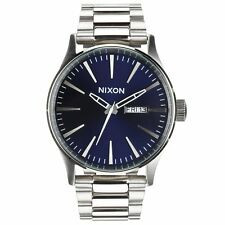 Nixon Sentry Ss Mens Watch - Blue Sunray One Size