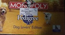 Monopoly Dog Lovers Pedigree Edition Game Replacement Pieces Parts FREE SHIPPING