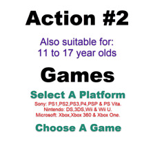 Action Games #2 Suitable for Teenagers(11-17yrs)Choose Console & Game From Lists