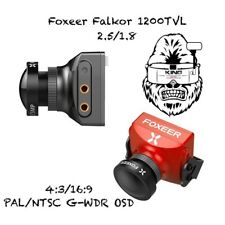 Foxeer Falkor 1200TVL FPV Camera 4:3/16:9 PAL/NTSC OSD Freestyle Long Range