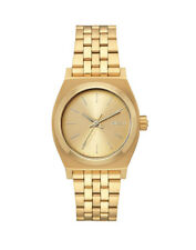 Nixon Medium Time Teller 31mm Watch Womens - All Gold/white A1130 One Size