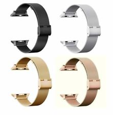 For Apple Watch Series 4 3 2 1 Milanese Woven Stainless Steel Watch Band Strap