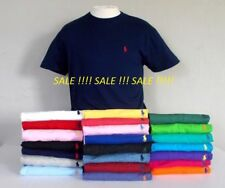 Men's Ralph Lauren Cotton Short Sleeve Polo T-shirt- Size: S, M ,L, XL AND XXL*