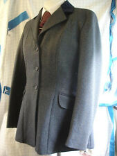 "Caldene Ladies Tweed Hacking Show Jackets Blue 36 38 40 42 44 "" Riding Hunt"