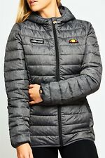 ELLESSE LADIES LOMPARD HOODED FULL ZIP JACKET IN GREY GRINDLE *ONLY £69.99*